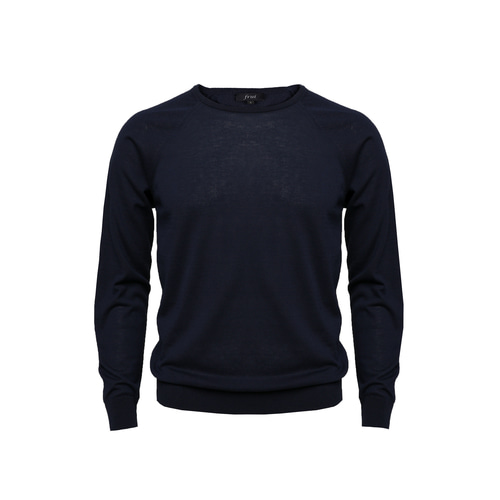 [60% SALE] 18SS Crewneck Longsleeves Knit_Navy