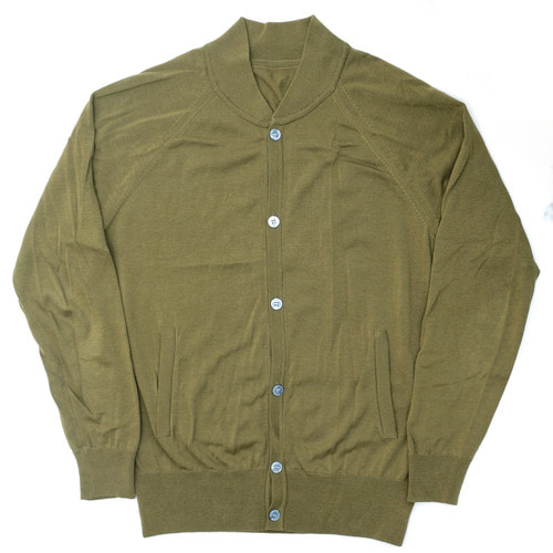 [60% SALE] 18SS Summer Cotton Bomber_Olive