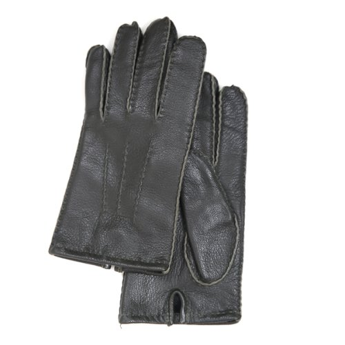 18 FW GLOVES _ 4 _ GOATSKIN (NATURAL) _ DARK GREEN