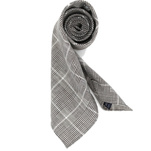 [30% SALE] Brown Glenchecked Necktie
