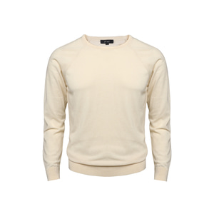 [60% SALE] 18SS Crewneck Longsleeves Knit_Cream