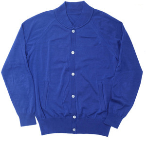 18SS Summer Cotton Bomber_Italian Blue