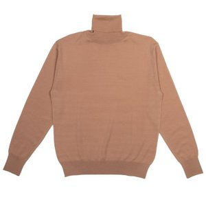 18FW Turtleneck Longsleeves Knit_Camel