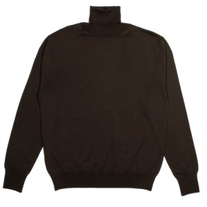 18FW Turtleneck Longsleeves Knit_Olive Brown