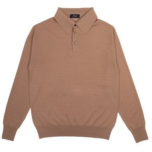 18FW Collar Longsleeves Knit_Camel