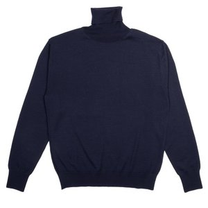 18FW Turtleneck Longsleeves Knit_Navy