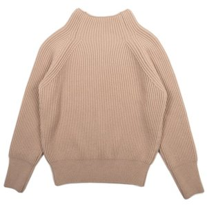 18FW Bulky Turtleneck Longsleeves Knit_Light Beige