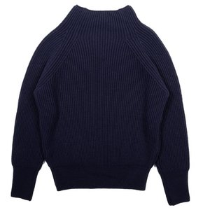 18FW Bulky Turtleneck Longsleeves Knit_Navy
