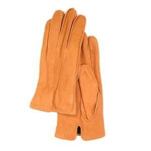 18 FW GLOVES _ 2 _ GOATSKIN (NUBUCK) _ ORANGE
