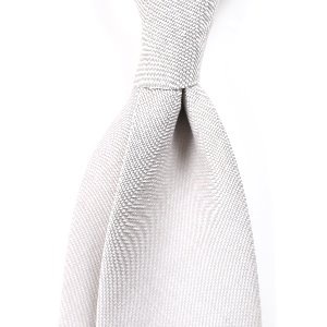 [BASIC] Cotton&Wool Gray Solid Necktie