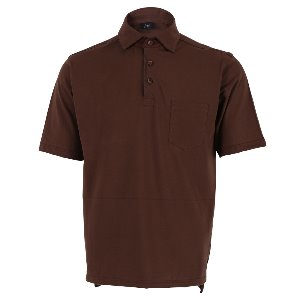 FRUI's 1st Collar T-Shirst_Brown
