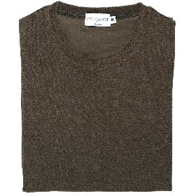 [HANGOVER] TERRY T-SHIRTS_OLIVE BROWN