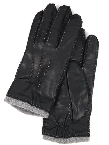 18 FW GLOVES _ 7 _ LAMBSKIN  _ BLACK