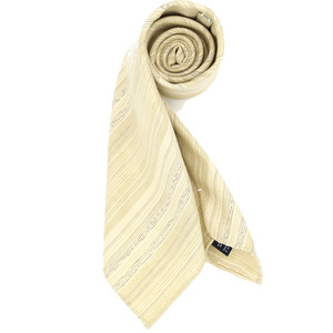 Ivory Unique Regimental Necktie