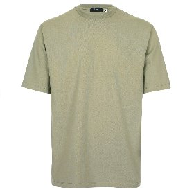 SILKET COTTON CREWNECK T-SHIRTS_SAGE
